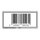 Custom EAN-13 Barcode Label