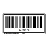Custom CODE39 Barcode Label