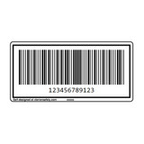 Custom MSI Barcode Label