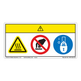 Caution/Hot Surface Label (WF3-023-CH)