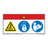 Danger/Entanglement Hazard Label (WF3-078-DH)