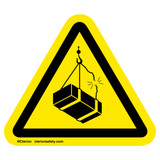 Crush Hazard/Overhead Load Label (IS6046-)