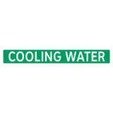 COOLING WATER Pipe Marker (PS-PB4G)