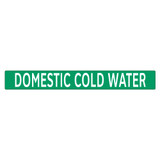 DOMESTIC COLD WATER Pipe Marker (PS-PB7G)