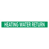 HEATING WATER RETURN Pipe Marker (PS-PD1G)