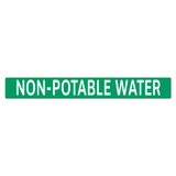 NON-POTABLE WATER Pipe Marker (PS-PE4G)