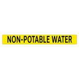 NON-POTABLE WATER Pipe Marker (PS-PE4Y)