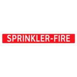SPRINKLER-FIRE Pipe Marker (PS-PF2R)