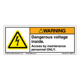 Warning/Dangerous Voltage (C2854-19)