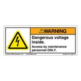 Warning/Dangerous Voltage (C2854-19)