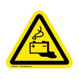 Battery Leak Label (IS6097-)