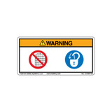 Warning/Do Not Operate (C15924-08)