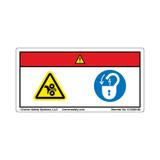 Danger/Rotating Cutting Blade (C15924-06)
