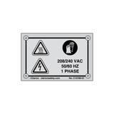 Hot Surface/Electrical Hazard (C10789-07)