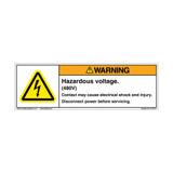 Warning/Hazardous Voltage (C7767-01)
