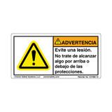 Warning/Avoid Injury (C27800-10)