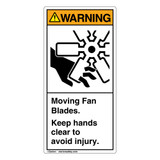 Warning/Moving Fan Blades (1047-ED4WV)
