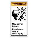 Warning/Moving Fan Blades (1047-ED4WV)