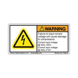 Warning/Failure to Input (C7202-01)