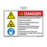 Danger/Potential Arc Flash (C4764-02)
