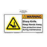 Warning/Sharp Knife Keep (C4764-10)