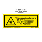 Notice/This Product Conforms (C26403-01)