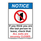 Notice/If You Think (C26403)