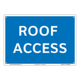 Notice Roof Access (26403-08)