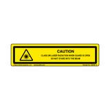 Caution/Class 2M Laser (C26403-15)