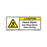 Caution/Heavy Object (C26403-31)