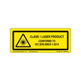Class 1 Laser Product (C26403-32)