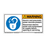 Warning/Electric and Pneumatic (H6011-JEWHPJ)