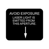 Laser Caution (94-10207 Rev A)