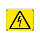 Hazardous Voltage Symbol Label (997301230042)
