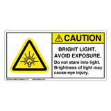 Caution/Bright Light (H6133-TJCH)