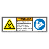 Warning/Raised Objects Can Become Label (8976-11WHPU)