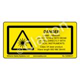 Danger/Laser Radiation (C23383-01)