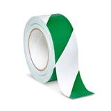 Safety Tape - Green/White (VST-2-GW)