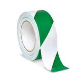 Safety Tape - Green/White (VST-2-GW)