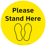 Please Stand Here (FM101-BALD38)