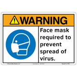 Warning/Face mask (F1361-)