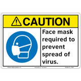 Caution/Face mask (F1362-)