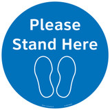 Please Stand Here (FM101-BMPF4E)