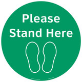Please Stand Here (FM101-GMPF4E)