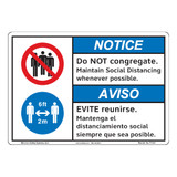 Notice/Do Not Congregate (F1378-)