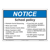 Notice/School Policy (F1391-)