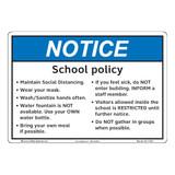 Notice/School Policy (F1391-)