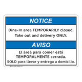 Notice/Dine In Area (FL1132-)