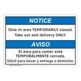 Notice/Dine In Area (FL1132-)
