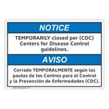 Notice/Temporarily Closed (FL1133-)